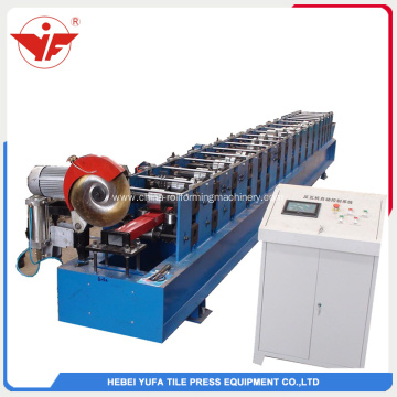 High quality rain water downpipe roll forming machine